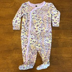 3-6M Tea Collection Cotton Footed Bodysuit